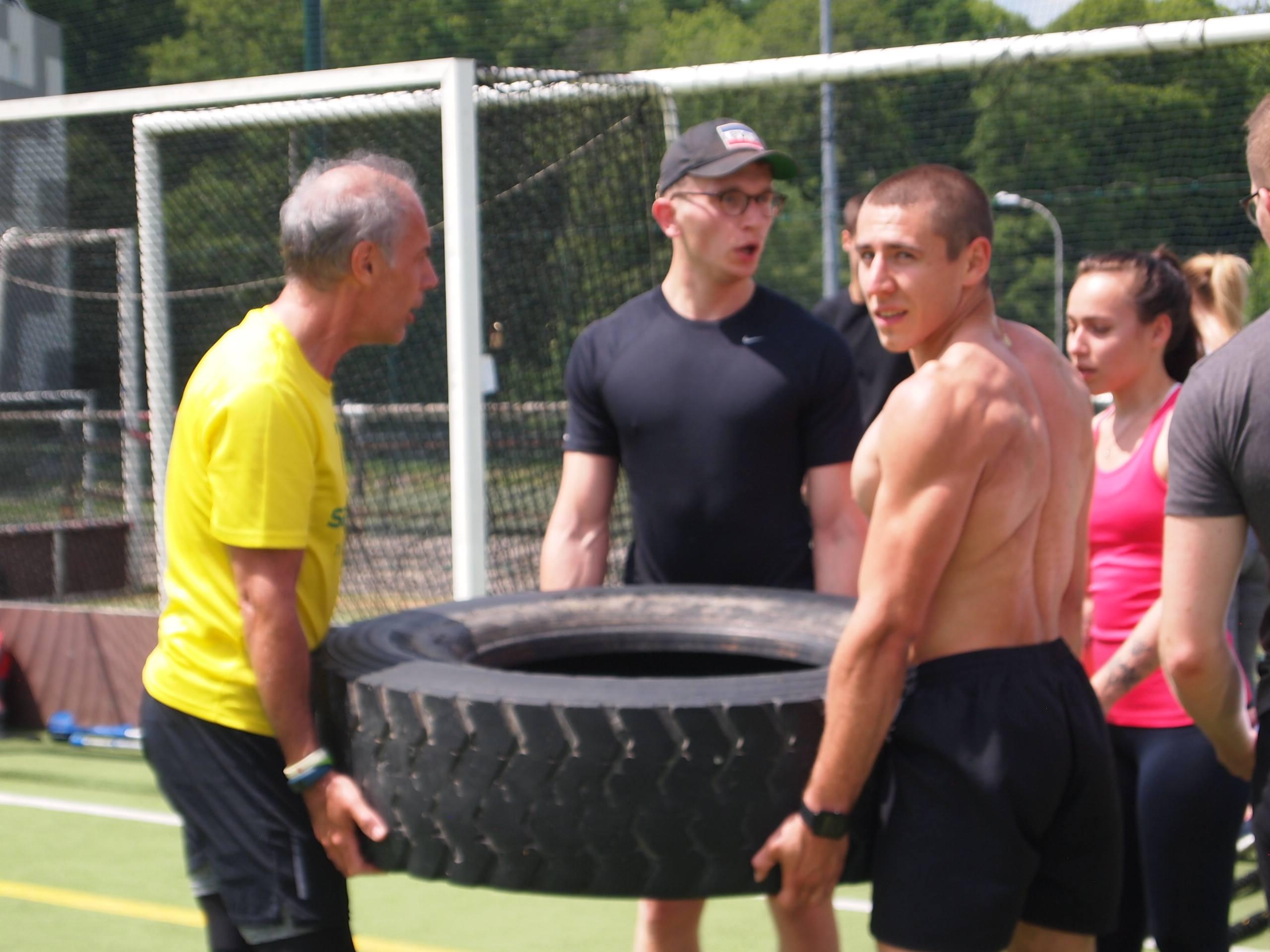 equipe cross training